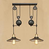 זול -2 - אור מנורות תלויות Ambient Light - מעצבים, 110-120V / 220-240V נורה כלולה / 10-15㎡ / E26 / E27