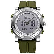 SINOBI Homens Relógio Esportivo Relogio digital Quartzo Digital Impermeável Noctilucente Resistente ao Choque Cronômetro Silicone Banda
