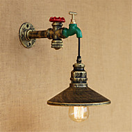 povoljno -Zemlja Inovativne cipele Retro Zidne svjetiljke Za Metal zidna svjetiljka 110-120V 220-240V 40W