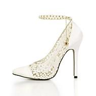 お買い得  レディースハイヒール-女性のかかと夏のクラブの靴チュールウェディングパーティー&イブニングドレスチェーン