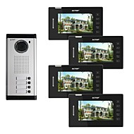 cheap -ACTOP 7 Inch Color Video Wired Metal the Best Systems for Buildings Security Product