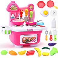 Doen alsof-spelletjes Toy Keuken Sets Toy Borden & Tea Sets Toy Foods Speeltjes Speeltjes Jongens Meisjes Stuks