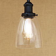 billige Takbelysning og vifter-Mini Anheng Lys Omgivelseslys Malte Finishes Metall Glass Mini Stil, LED, designere 110-120V / 220-240V Pære Inkludert / E26 / E27