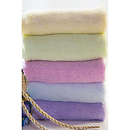 フレッシュスタイル ハンドタオル,純色 優れた品質 竹繊維100% タオル