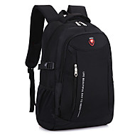 Unisex Bags Nylon Backpack for Sports Formal Outdoor Office & Career Black Amethyst