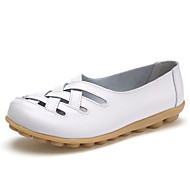 Women's Flats Summer Fall Mary Jane Comfort Crib Shoes Light Soles Office & Career Dress Casual Low HeelSplit Joint