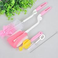 halpa -Korkealaatuinen Kitchen Nukkaharja Työkalut,Plastic Sieni Nylon