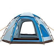 GAZELLE OUTDOORS 5-8 osoba Šator Za jednu osobu šator za kampiranje Jedna soba Automatski šator Vodootporno Vjetronepropusnost