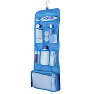 旅行用洗面道具バッグ 旅行かばんオーガナイザー 防水 携帯用 折り畳み式 小物収納用バッグ 多機能 のために クロス ファブリック / ソリッド