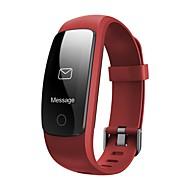 tanie Inteligentne zegarki-Inteligentne Bransoletka GPS Ekran dotykowy Pulsometr Wodoszczelny Spalone kalorie Krokomierze Śledzenie odległości Długi czas czuwania