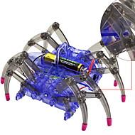 צעצועיערכת עשה זאת בעצמך צעצוע חינוכי צעצועי מדע וגילויים רובוט צעצועים מכונה רובוט חיה חרק SPIDER עשה זאת בעצמך בנים בנות חתיכות