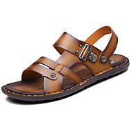 Sandaalit-Tasapohja-Miehet-PU--Rento-Comfort