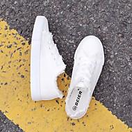 Dames Schoenen PU Lente Comfortabel Sneakers Voor Causaal Wit Zwart Lichtblauw