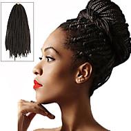 """Twist Vlechten Haarvlechten box Vlechten 24 """" 100% Kanekalon Haar Medium bruin Vlechthaar Haarextensions"""