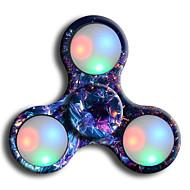 Håndspinnere Hånd Spinner til Killing Time Stress og angst relief Focus Toy LED Spinner Plast Klassisk Stk. Børne Voksne Drenge Legetøj Gave / LED Lys