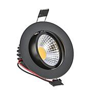 baratos Luzes LED de Encaixe-6W 540lm 2G11 Downlight de LED Encaixe Embutido 1 Contas LED COB Decorativa Branco Quente / Branco Frio 85-265V