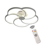 billige Takbelysning og vifter-Moderne / Nutidig Mulighet for demping LED designere Dimbar med fjernkontroll Takplafond Omgivelseslys Til Stue Soverom Baderom Spisestue
