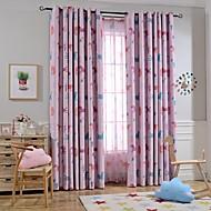 To paneler Window Treatment Europeisk , Dyr Soverom Polyester Materiale Blackout Gardiner Hjem Dekor For Vindu