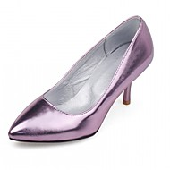 cheap Women's Heels-Women's Shoes Leatherette PU Summer Fall Comfort Novelty Club Shoes Formal Shoes Heels Walking Shoes Stiletto Heel Pointed Toe for Casual