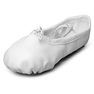 billige Ballettsko-Dame Ballettsko Kunstlær Flate Flat hæl Kan ikke spesialtilpasses Dansesko Militærgrønn / Rød / Blå / Ytelse