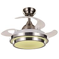 billige Takvifter-Ecolight™ Takvifte Omgivelseslys Malte Finishes Metall Akryl LED, designere 220-240V Varm Hvit / Hvit LED lyskilde inkludert / Integrert LED