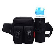 billige Rygsække og tasker-Skuldertaske for Fritidssport / Cykling / Cykel / Rejse Sportstaske Vandtæt / Regn-sikker / Vandtæt Lynlås Løbetaske Alle Mobil Lærred 5# / 6# / 7#