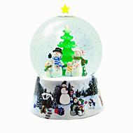 ボール オルゴール Christmas Trees ライトアップおもちゃ おもちゃ 球体 あひる 樹脂 小品 男女兼用 誕生日 ギフト