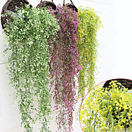 cheap Artificial Flowers-Artificial Flowers 1pcs Branch Plastic Plants Basket Flower