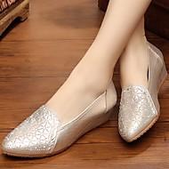 Damen-Loafers & Slip-Ons-Outddor Lässig-Stoff-Keilabsatz-Komfort-