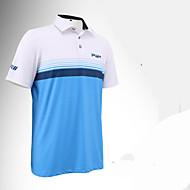 Herrn Kurzarm Golf Anatomisches Design Atmungsaktiv Weich Schweißableitend Komfortabel Golfspiel Freizeit Sport