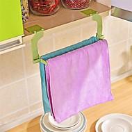 1 stuks naadloze pasta perforatie gratis handdoekrek hangende handdoek keuken toilet badkamer handdoekrek willekeurige kleur