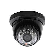 cheap -YanSe® CCTV Home Surveillance 3.6mm Lens with IR Cut Dome Security Camera 24PCS Infrared LEDs Black