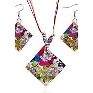 Pentru femei Set bijuterii Scoică Boem, Boho Include Seturi de bijuterii de mireasă Curcubeu Pentru Cadou Zilnic Casual