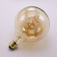 4W E27 Lâmpadas de Filamento de LED 1 COB 400 lm Branco Quente 2300 K Decorativa AC 220-240 V