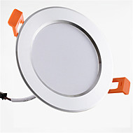 billige -1pc 9W 900lm 20 LED Lett installasjon Nedfellt Dekorativ Led-Nedlys Varm hvit Kjølig hvit AC 85-265V