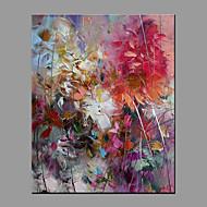 Handgeschilderde Abstract Modern/Hedendaags Eén paneel Canvas Hang-geschilderd olieverfschilderij For Huisdecoratie