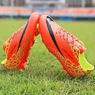 お買い得  男の子用靴-男の子 靴 PUレザー 春 アスレチック・シューズ サッカー コンビ のために オレンジ / イエロー / ライトグリーン