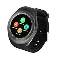 tanie Inteligentne zegarki-Inteligentny zegarek Y1 na Android Spalone kalorie / Odbieranie bez użycia rąk / Obsługa aparatu / Anti-lost Stoper / Krokomierz / Powiadamianie o połączeniu telefonicznym / Monitor aktywności