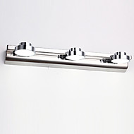tanie Oświetlenie lustra-Modern / Contemporary Oświetlenie łazienkowe Na Metal Światło ścienne IP44 220V 110V 110-120V 220-240V 3W