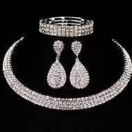 Pentru femei Set bijuterii Clasic, De Bază Include Argintiu Pentru Cadouri de Crăciun Nuntă Petrecere Ocazie specială Aniversare Zi de Naștere / Logodnă / aleasă a inimii
