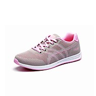 Women's Sneakers Casual Fabric Spring Summer Casual Casual Flat Heel Fuchsia Gray Flat