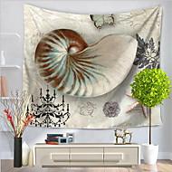 tanie Dekoracje ścienne-Motyw plaża Animals Dekoracja ścienna 100% Polyester Prosty Wzorzysty Wall Art, Ścienne Gobeliny Dekoracja