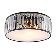 Crystal Ceiling light Vintage Retro Country Painting Feature for Living Room Bedroom Kids Room E27 E26 lampholder
