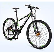 Mountain Bike Cycling 27 Speed 29 Inch Double Disc Brake Suspension Fork Hard-tail Frame Anti-slip Ordinary/Standard Metalic Aluminium