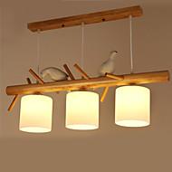 halpa -Riipus valot ,  Moderni Traditionaalinen/klassinen Maalaus Ominaisuus Puu/bambuLiving Room Makuuhuone Ruokailuhuone Työhuone/toimisto