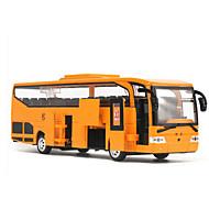Aufziehbare Fahrzeuge Spielzeugautos Bus Spielzeuge Simulation Einrichtungsartikel LED-Lampen Auto Metalllegierung Stücke Unisex