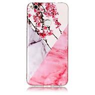 billiga Mobil cases & Skärmskydd-fodral Till Huawei P9 Lite / Huawei / Huawei P8 Lite IMD Skal Marmor Mjukt TPU för P10 Plus / P10 Lite / Huawei P9 Lite