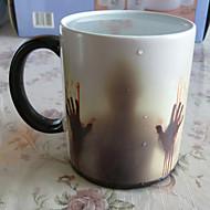 Casul/Zilnic A merge Măr Pahare, 400 Ceramică Ceai Apă Ceaiuri & Răcoritoare Rotativă