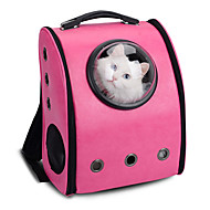 Cat Dog Carrier & Travel Backpack Astronaut Capsule Carrier Pet Carrier Portable Breathable Solid Yellow Coffee Rose Blushing Pink