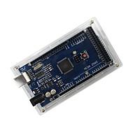 caso de acrílico de proteção para arduino mega 2560 R3 - transparente